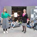 Das Max-Planck-Gymnasium aus Lahr gewinnt den 2. Platz beim Deutschen Lesepreis